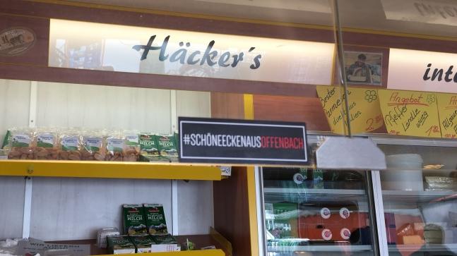 Käse Häcker's und #schöneeckenausoffenbach eine gute Symbiose.