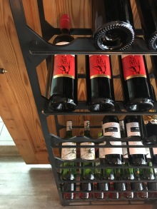 Spanische Weinauswahl