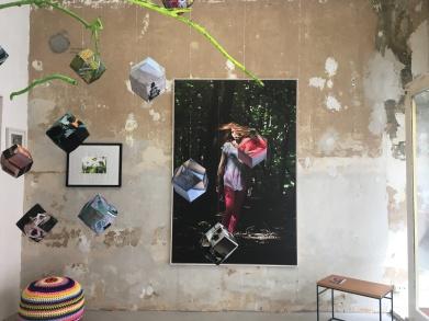 Installationsarbeit von Sandra Mann
