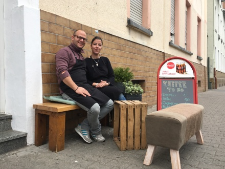 Leidenschaft: Alexander und Sandra Langlitz.