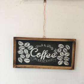 Hier ist der Name Programm: Coffee