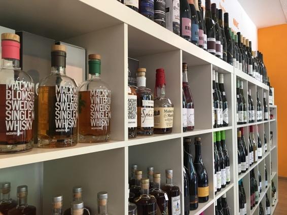 Whisky und Wein