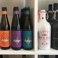 Nebeneinander: Craft Beer und Gin