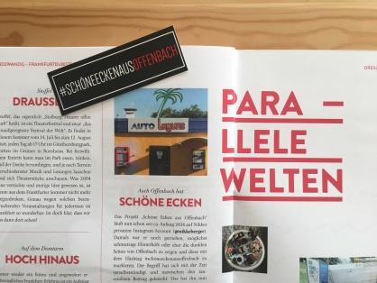 Parallele Welten könnte man meinen: Schöne Ecken aus Offenbach