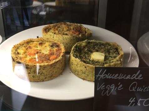 Auslagencheck: Homemade Veggie Quiche