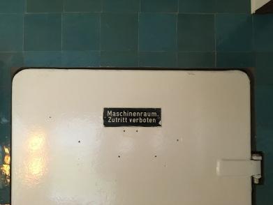 Klare Ansage! Maschinenraum: Zutritt verboten!