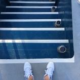 Während der Zeit in der Werft hat die Backschaft einen Treppenaufgang bekommen!
