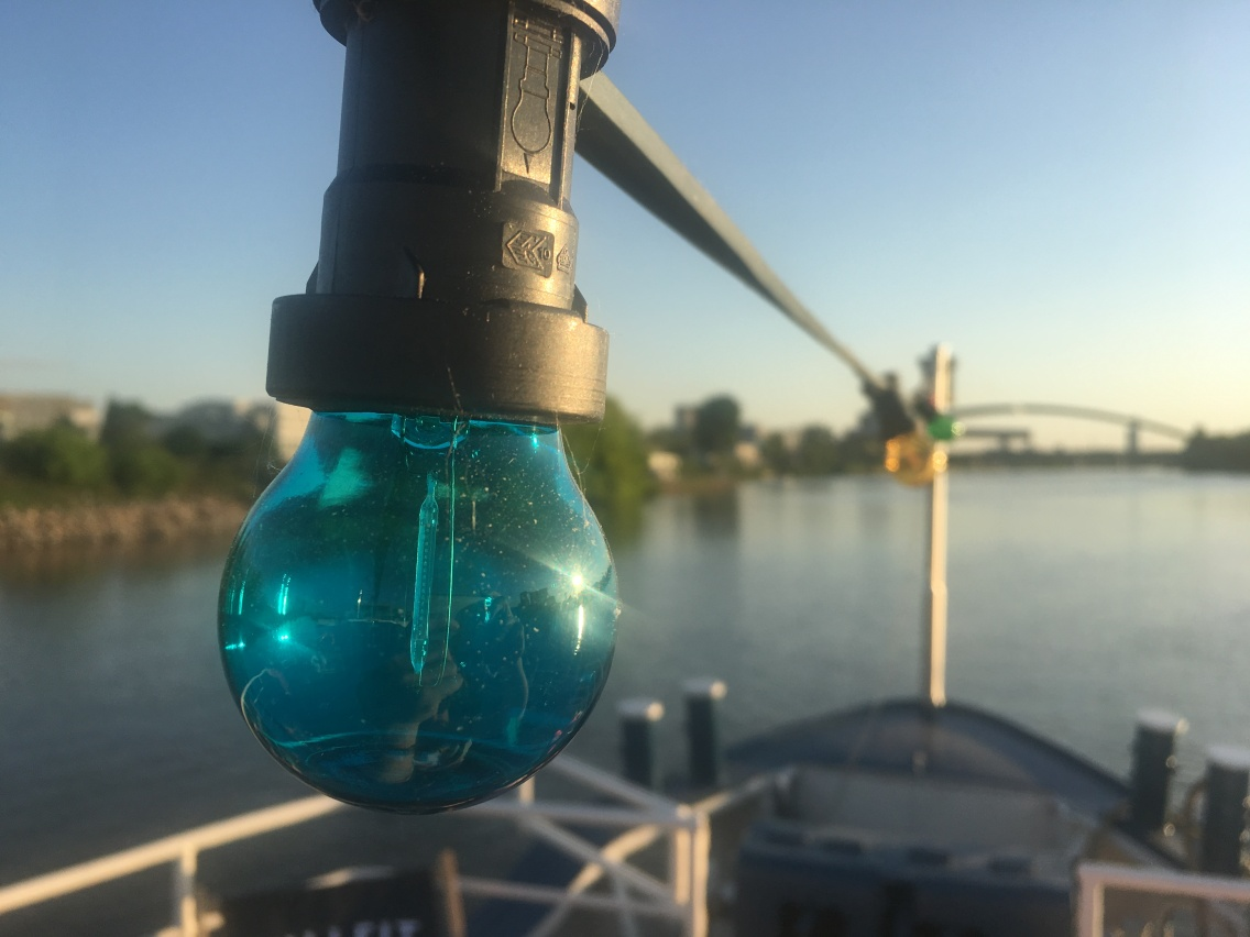 Main / Maritim: Lightbulb blau ...