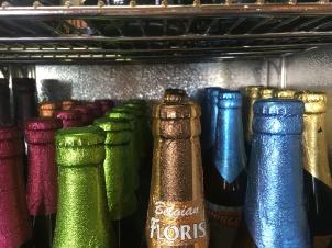 Eine bunte Auswahl an belgischen Biersorten