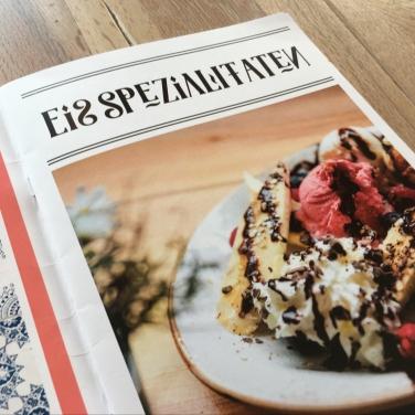 """""""Eisspezialitäten"""" - Einblicke in die Speisekarte ..."""