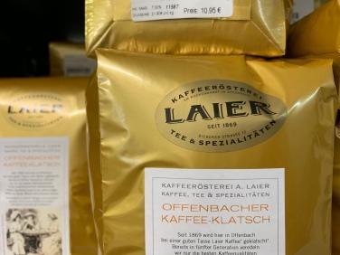 """Die Kaffeesorte """"Offenbacher Kaffeeklatsch"""" gehört im Moment zu meinen Lieblingssorten aus dem Hause Laier! Er schmeckt vollmundig und intensiv. Sehr zu empfehlen!"""