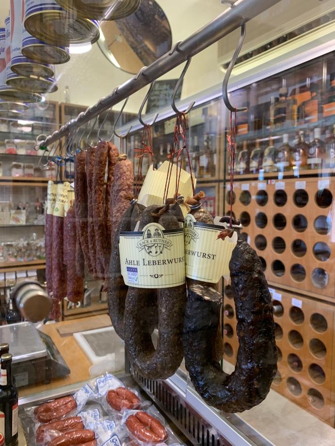 Hier im Bild: Die leckere Ahle-Leberwurst aus Nordhessen