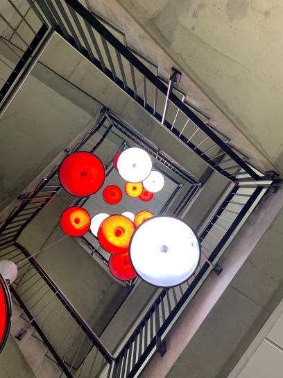Es werde Licht! In den Vereinsfarben der Offenbacher Kickers!