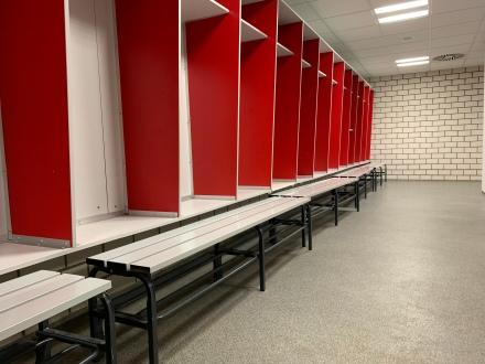 Der Lack ist noch lange nicht ab! Ein Stück Offenbacher Identität aus dem alten Stadion am Bieberer Berg