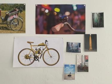 Die Impressionen aus der Werkstatt, könnten auch eine Kunstausstellung abbilden!