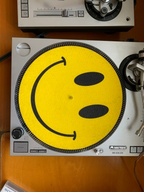 Gute Laune: Smiley-Slipmat!