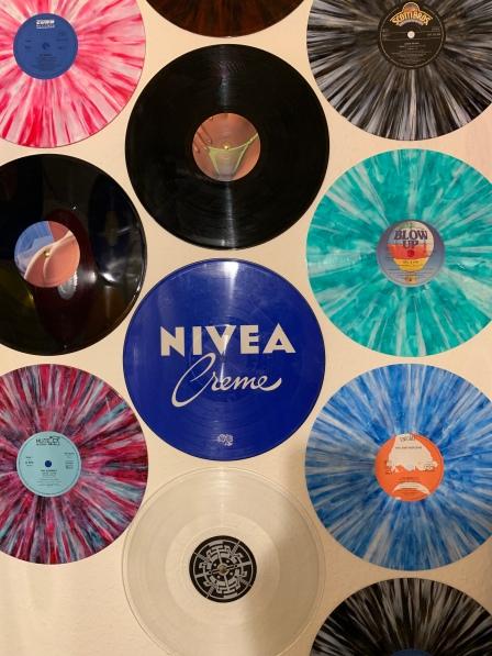 ... aber auch sparkled oder Picture Disks Vinyl