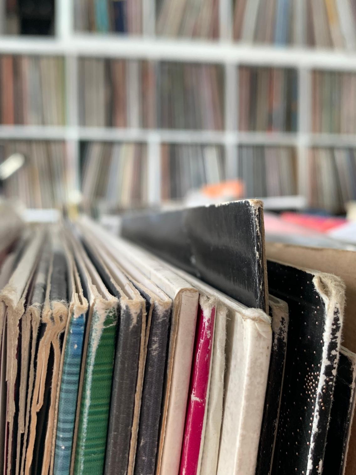 Der große Vinyl-Boom! Jede Medaille hat zwei Seiten. Christian kann davon ein Liedchen singen ...