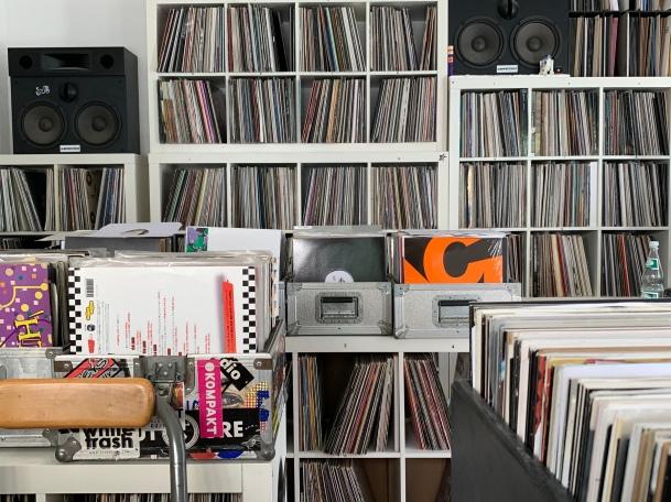Schallplatten soweit das Auge reicht ...