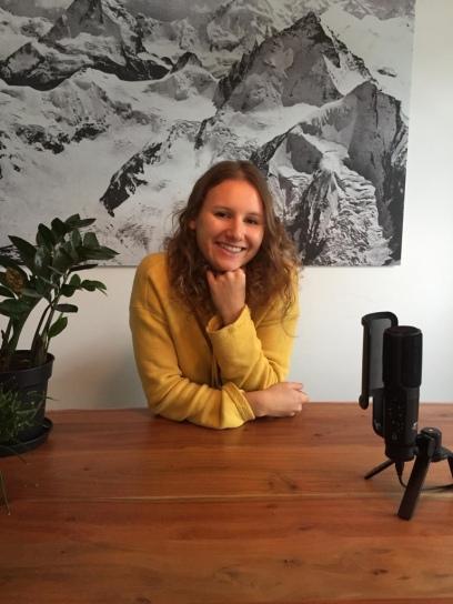 Das ist Anna Martin! Die Stimme und Erfinderin hinter dem Podcast: What's Popping!