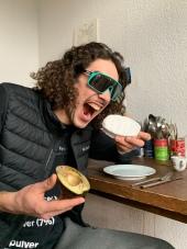 Julien macht's vor - alle machen's nach: Mit Avocado Camembert sind euch die 8000Watt sicher!!