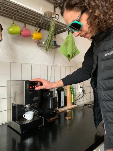 Espresso: Nur einen Knopfdruck entfernt!
