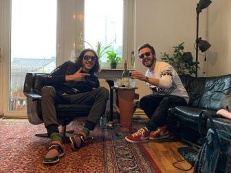 Saluti a tutti! Interview Situation in der Casa Riganti!