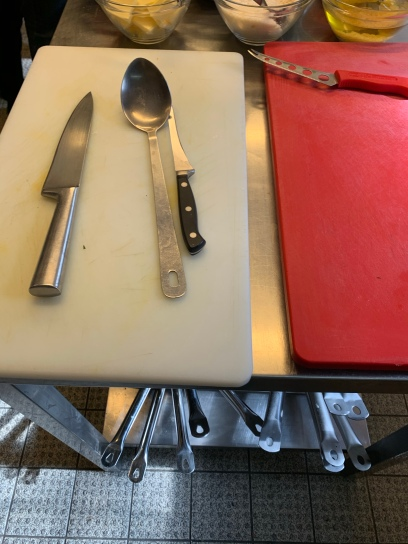Küchenutensilien: Alles in greifbarer Nähe.